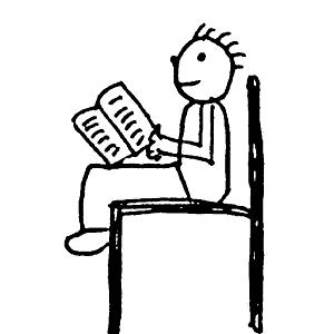 Bücher und Zeitschriften lesen