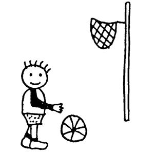 Streetball spielen