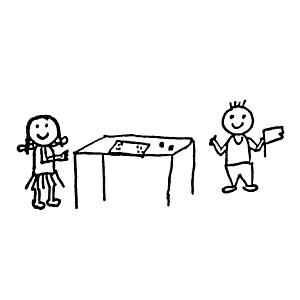 Tischspiele spielen